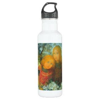 Idyll by Piet Mondrian Stainless Steel Water Bottle
