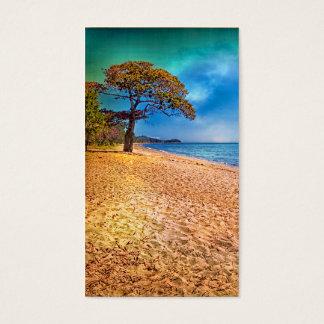 Idyllic Beach View Business Card