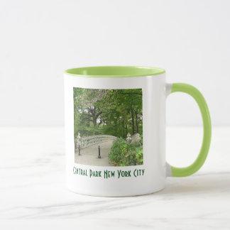Idyllic Central Park New York City Ringer Mug
