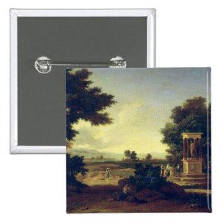 Idyllic Landscape Pin