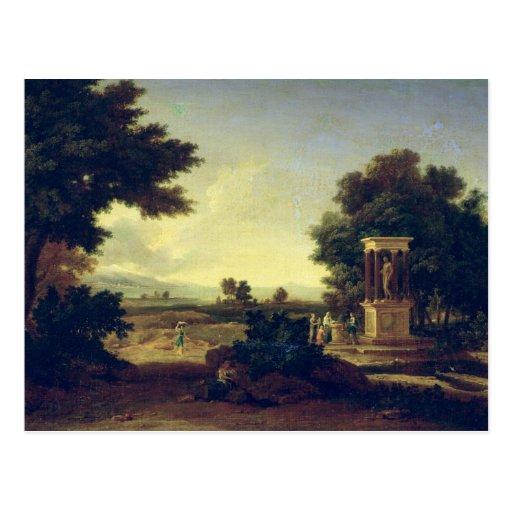Idyllic Landscape Post Card