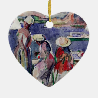 Idyllic Promenade Ceramic Ornament