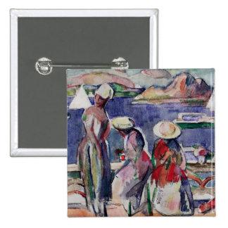 Idyllic Promenade Pinback Buttons