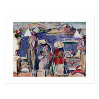 Idyllic Promenade Postcard