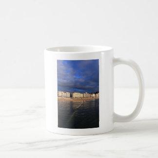 Idyllic summer evening San Sebastian coast Coffee Mug