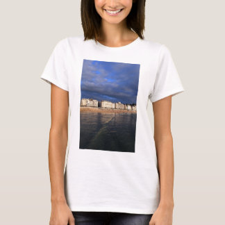 Idyllic summer evening San Sebastian coast T-Shirt
