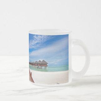 Idyllic Symmetry. Water Villas. Maldives Coffee Mugs