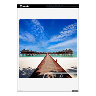 Idyllic Symmetry. Water Villas. Maldives PS3 Slim Decals