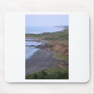 Idyllic tropical coast El Salvador Mouse Pad
