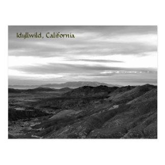 Idyllwild, California Post Card
