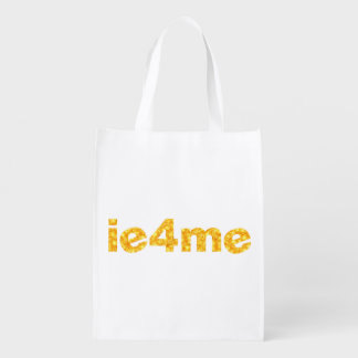 ie4me Gold Reusable Grocery Bag