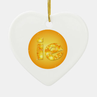 ie ceramic ornament