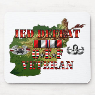 IED contrario OEF C-IED Mouse Pad
