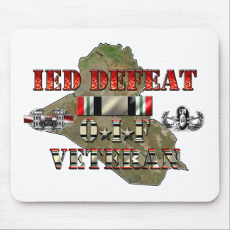 IED contrario OIF C-IED Mouse Pads