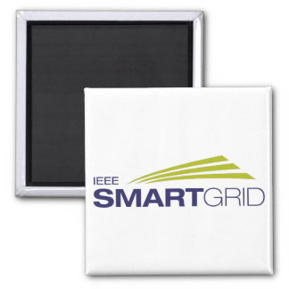 IEEE Smart Grid 2 Inch Square Magnet