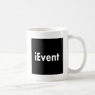 ievent classic white coffee mug