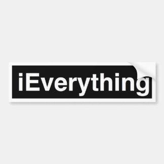 iEverything Bumper Sticker