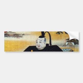 Ieyasu Tokugawa Bumper Sticker