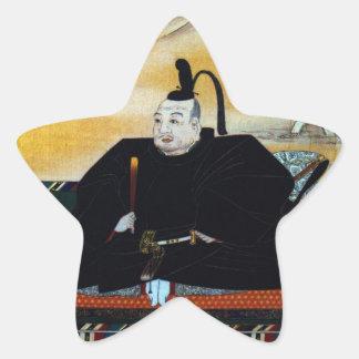 Ieyasu Tokugawa Star Sticker