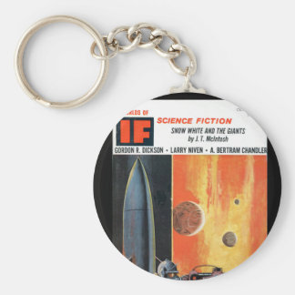 IF 03_Pulp Art Basic Round Button Keychain