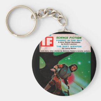 If - 1967-02_Pulp Art Basic Round Button Keychain