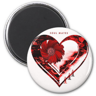 """""""If A Candle Could Burn"""" 2 Inch Round Magnet"""