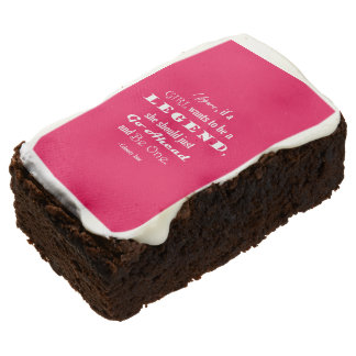 If A Girl Wants To Be A Legend Brownie
