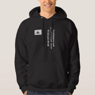 'IF A KANGAROO CAN EVOLVE...' funny saying hoodie