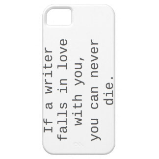 """""""If a writer falls in love with you..."""" products iPhone SE/5/5s Case"""
