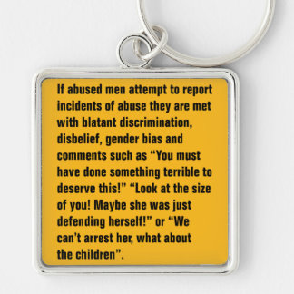 If Abused Men Attempt To Report Incidents … Keychain