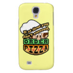 If at first you dont succeed order pizza. galaxy s4 covers