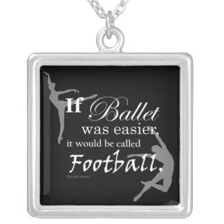 If Ballet Was Necklace (black)