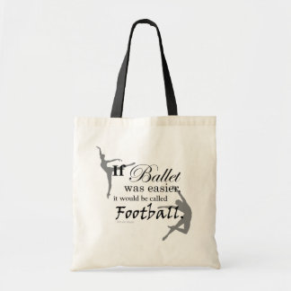 If ballet was... Tote (customizable) Canvas Bags