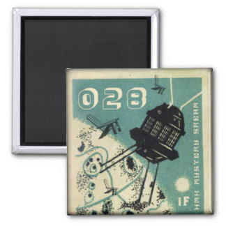 iF: Beyond Below Above 2 Inch Square Magnet