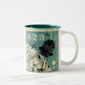 iF: Beyond Below Above Two-Tone Coffee Mug