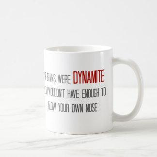 If Brains Were Dynamite Mug