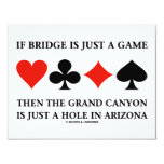 If Bridge Is Just A Game Then Grand Canyon Hole Announcement