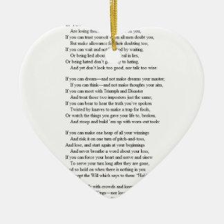 If_by_Rudyard_Kipling.JPG Ceramic Ornament