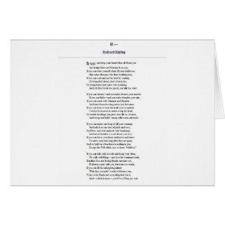 If_by_Rudyard_Kipling.JPG Greeting Card