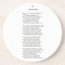 If_by_Rudyard_Kipling.JPG Sandstone Coaster