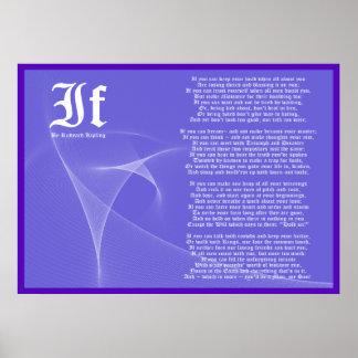 IF by Rudyard Kipling Poster Print