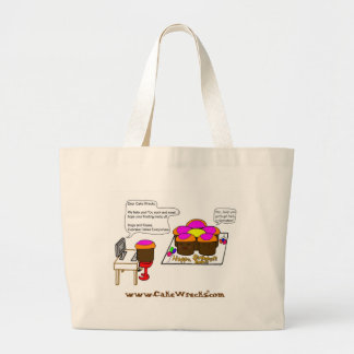 """If CCCs Could E-Mail"" Tote Canvas Bag"