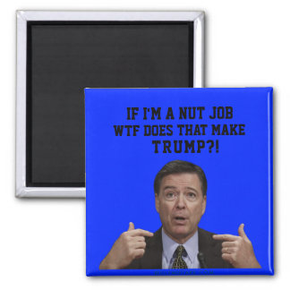 IF COMEY'S A NUT JOB WTF DOES THAT MAKE TRUMP?! MAGNET