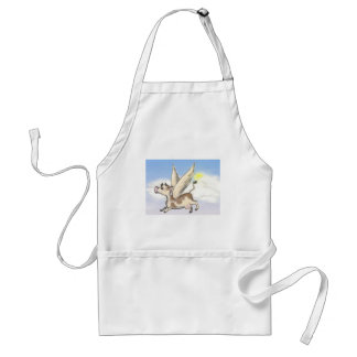 If Cows could fly... Adult Apron