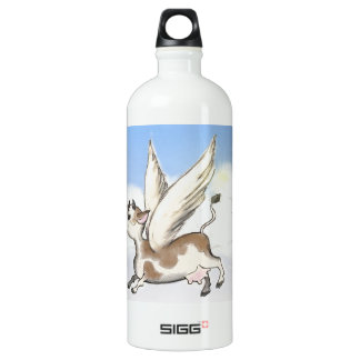 If Cows could fly... Water Bottle