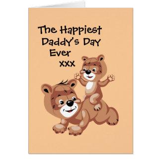 If Daddys were Teddy Bears Card