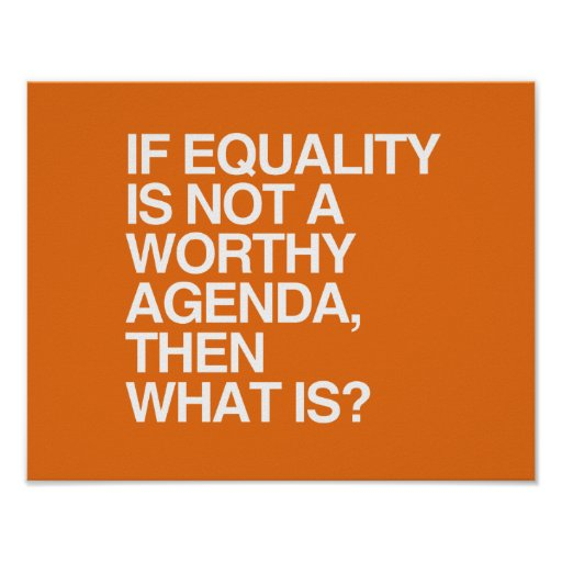 IF EQUALITY IS NOT A WORTHY AGENDA -.png Poster