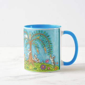 If Fish Grew On Trees Cats Kittens Willow Mug