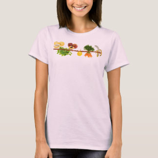 if found, please feed raw fruit, vegetables, nuts T-Shirt