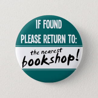 If Found Please Return to the Nearest Bookshop Button